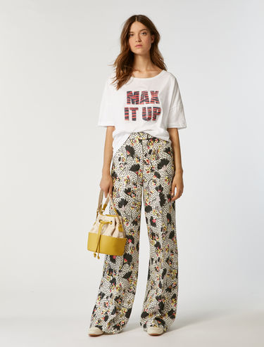 T-Shirt mit Print im Oversized-Look