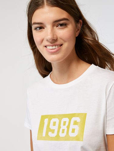 Cotton 1986 T-shirt