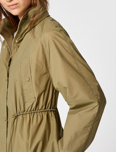 Oversized lightweight parka
