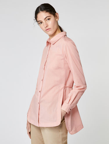 Tunic shirt in muslin