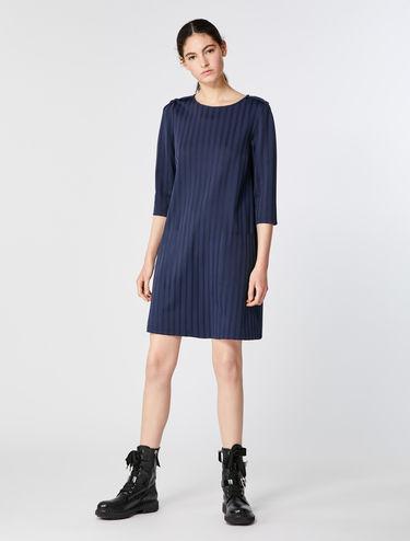 Jacquard jersey dress