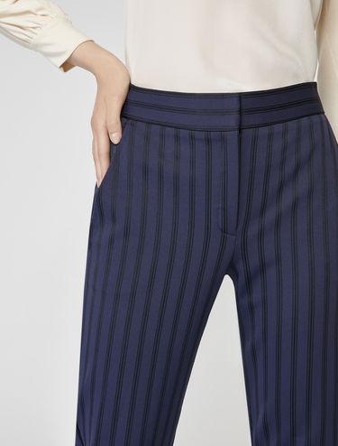 Jacquard jersey trousers