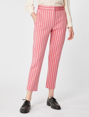 Pantalon en jersey jacquard