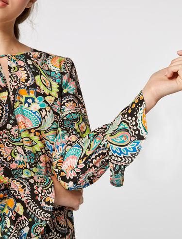 Bluse aus Habotai-Seide
