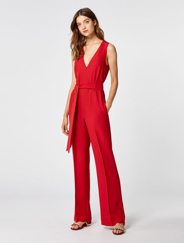 Floaty satin jumpsuit