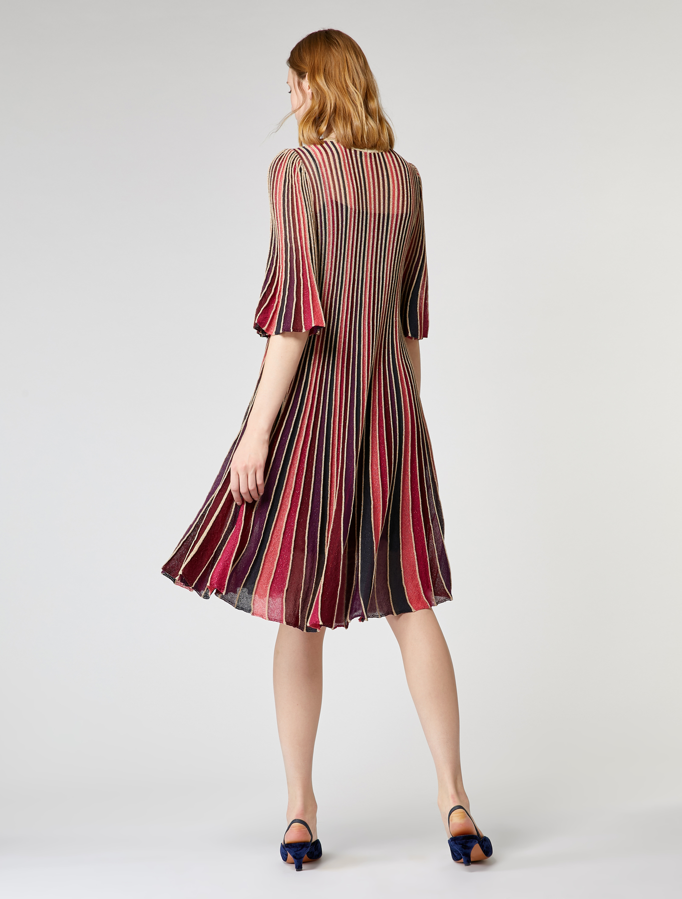 Pleated lamé dress 56105a23bd6