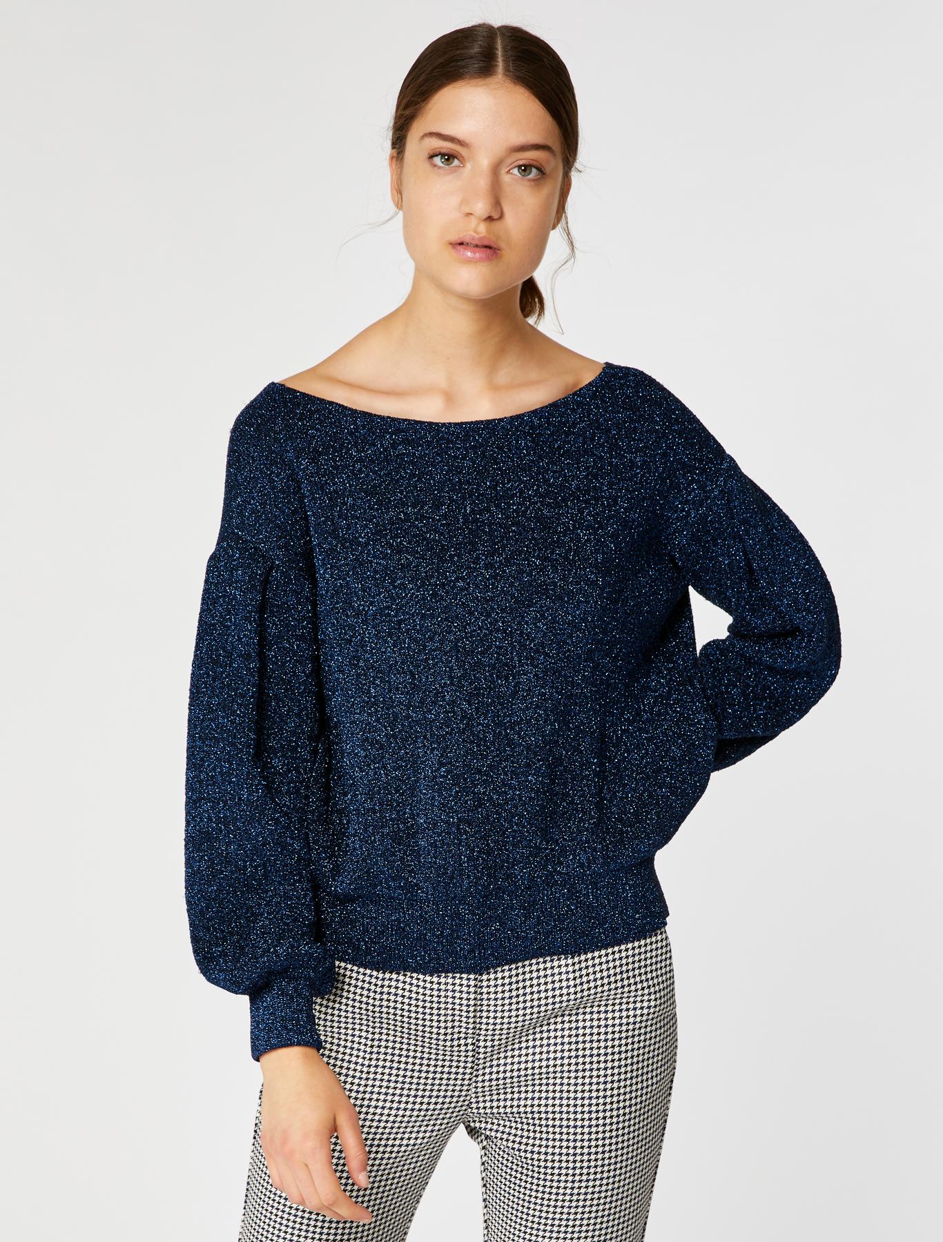 Blue Sweater Lamé amp;co Max Oversized Navy atgnWSRR8