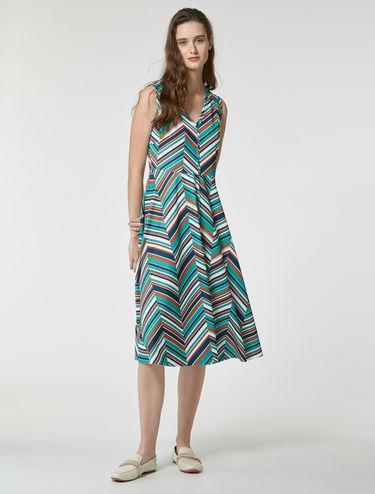 ジャージー ミディ コローラ ドレス
