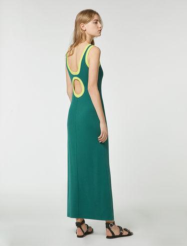 Tank Dress mit Tropfen-Ausschnitt