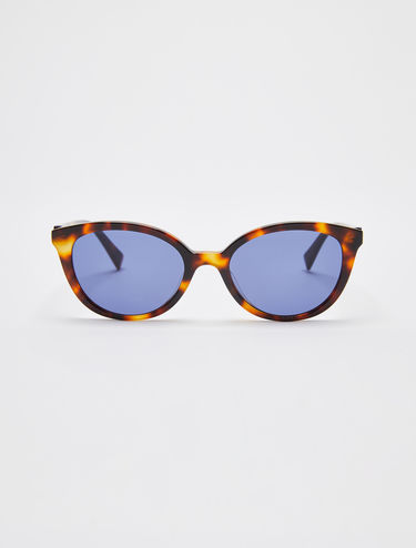 Oval cat-eye sunglasses