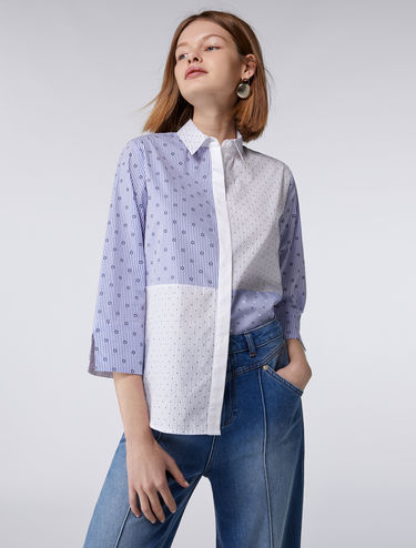 Loose-fit poplin shirt