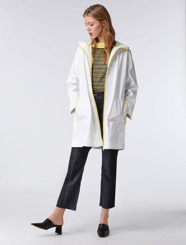 Patent parka jacket