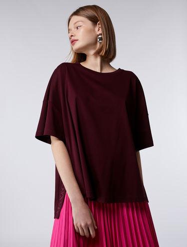 T-shirt kimono di cotone