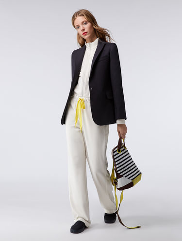 Tailored longline blazer