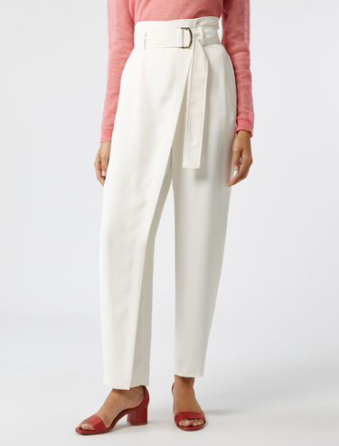 b0838c8931 Women's Trousers: Skinny Fit, Wide, High Waist - MAX&Co.