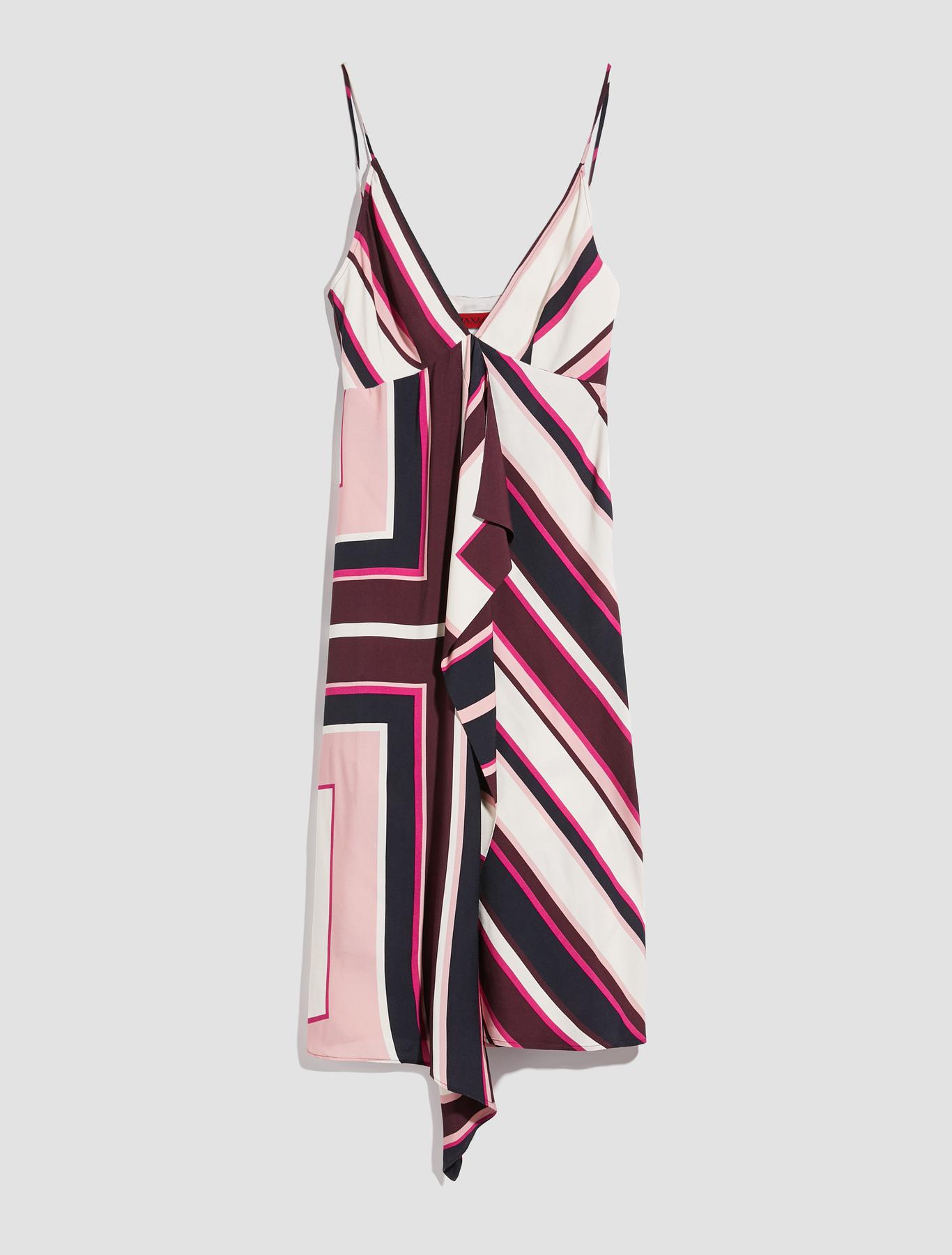 68fb5b0b4f4 Graphic stripe midi-dress