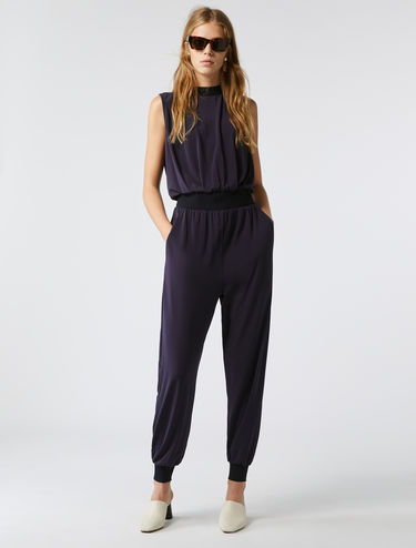 Sleeveless sporty jumpsuit