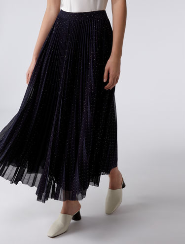 Floaty tulle maxi skirt