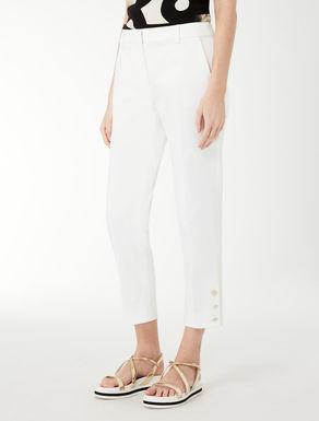 Pantalon en satin de coton