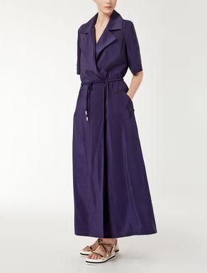 Silk poplin dress