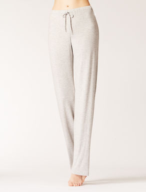 Loose-fitting jersey trousers