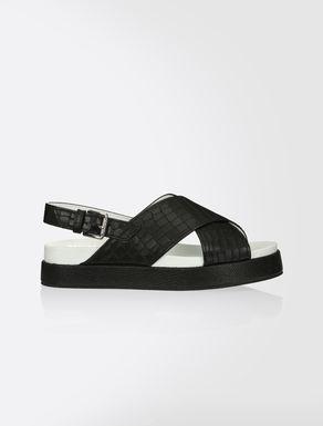 Leather sandal
