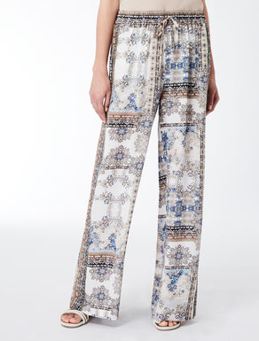 Crêpe de chine trousers