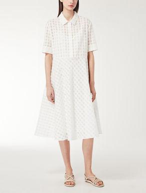 Silk voile dress