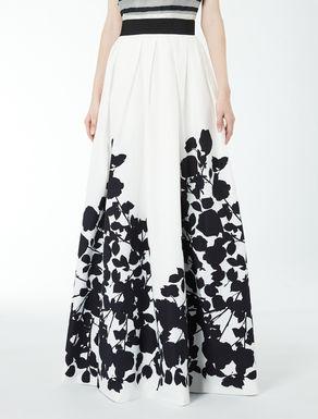 Cotton and silk cloth skirt