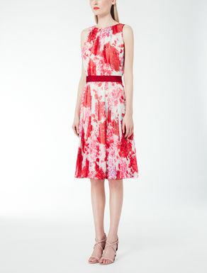 Kleid aus Seidengeorgette
