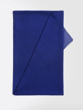 Silk georgette scarf