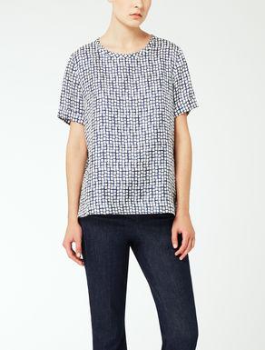 Camiseta de twill de seda