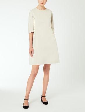 Vestido de faya de algodón