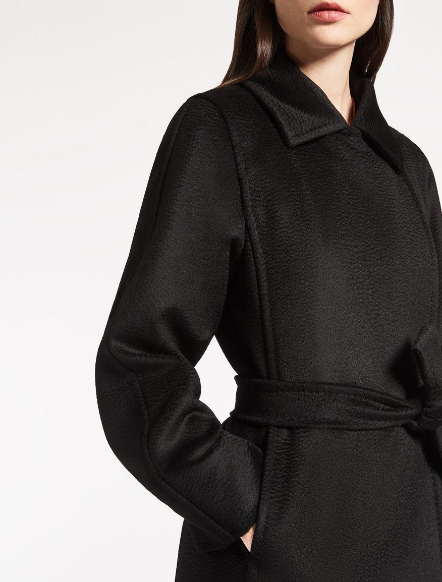 Camelhair Coat Black Quot Manuela Quot Max Mara