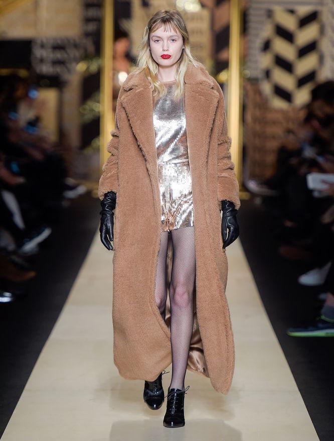 Manteau en chameau