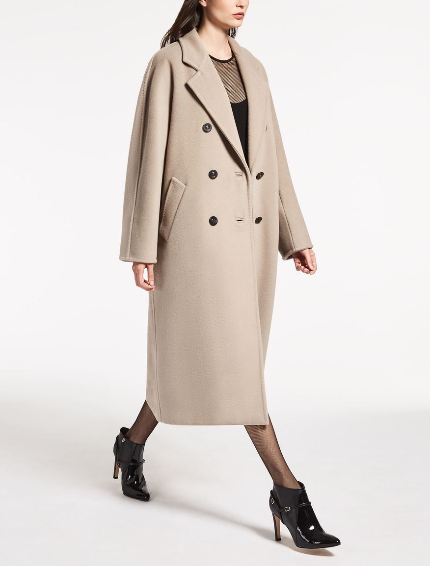 101801icon coat beige madame max mara. Black Bedroom Furniture Sets. Home Design Ideas