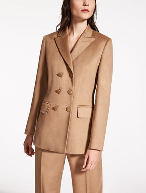 Jacke aus Kamelhaar