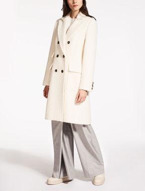 Abrigo de alpaca y seda