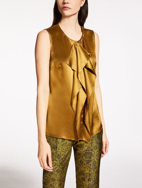 Silk creponne top