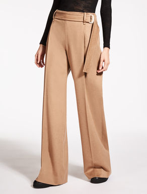 Camel-hair trousers