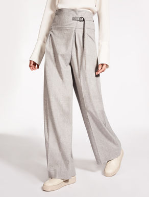 Wool and cashmere trousers