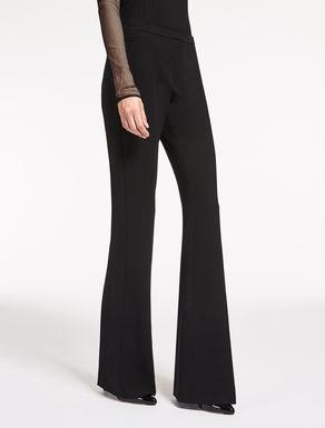Pantalon en crêpe de laine