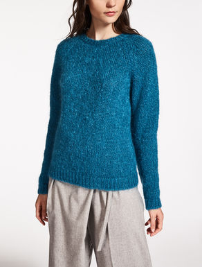 Mohair and wool sweater