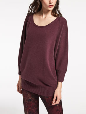 Pure cashmere knit shirt