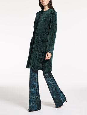 Manteau en astrakan