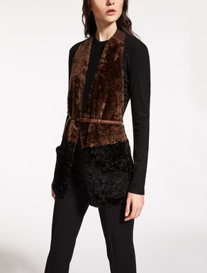 Shearling stole
