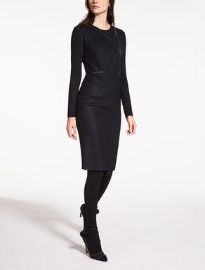 Vestido de jersey de lana