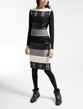 Wool jersey dress