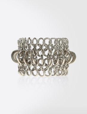 Bracelet en maille métallique