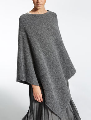 Wool and alpaca cape
